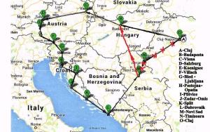Traseu Europa est