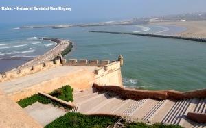 Rabat - Zidurile spre estuarul fluviului