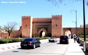 Meknes - Poarta Bab Lakhmiss