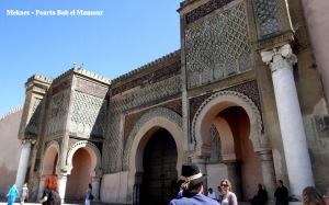 Meknes - Bab el - Mansour
