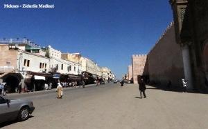 Meknes - Zidurile Medinei