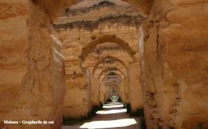 Meknes - Grajdurile de cai