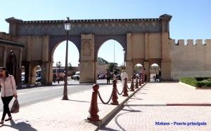 Meknes - Poarta principala
