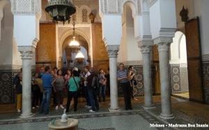 Meknes - Medresa Bou Inania